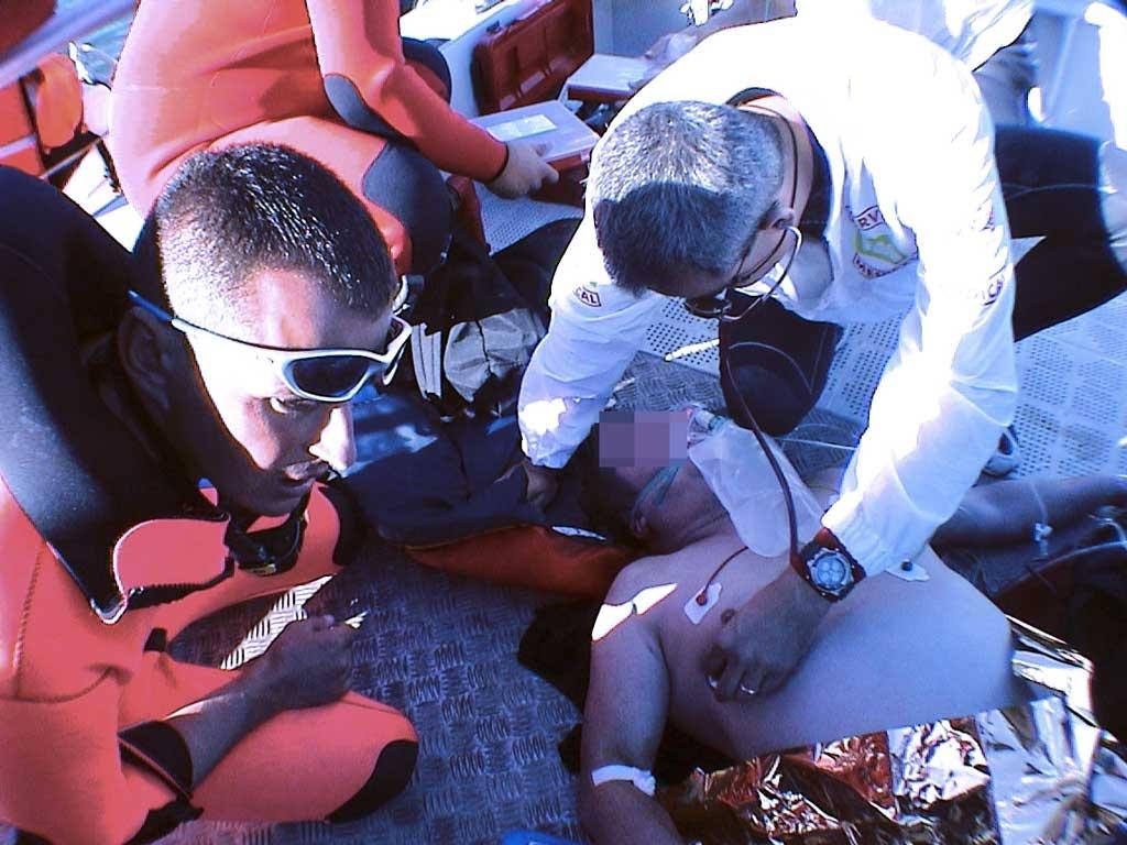 Secours et assistance médicale à blessé