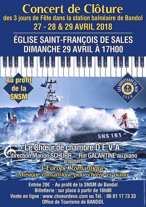 affiche concert EVA bandol
