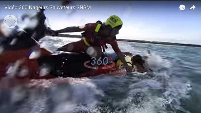 Jetez-vous à l'eau avec nos sauveteurs – vidéo 360°