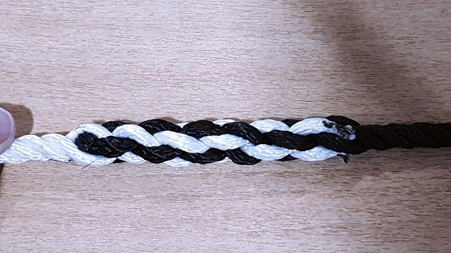 relier deux cordages